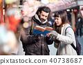 白人 外國人 遊覽 40738687