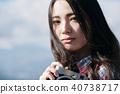 女性相機拍攝肖像 40738717