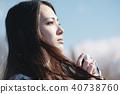 女性相機拍攝肖像 40738760