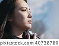 女性相機拍攝肖像 40738780