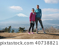Fujisan Foreign female fitness portrait 40738821