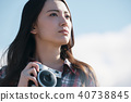 女性相机拍摄肖像 40738845