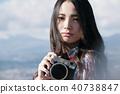 女性相機拍攝肖像 40738847