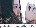 女性相機拍攝肖像 40738853