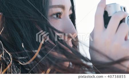 人物 肖像 女生 40738855