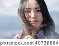 女性相機拍攝肖像 40738884