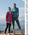 Fujisan Foreign female fitness portrait 40738910