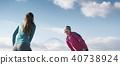 成熟的女人 一個年輕成年女性 女生 40738924