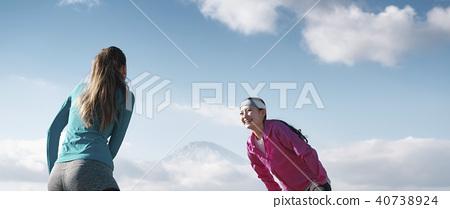 富士外國人女子健身 40738924