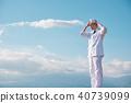 남성, 남자, 푸른 하늘 40739099