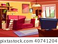 room interior vector 40741204