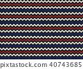Fabric seamless pattern texture background. 40743685