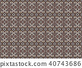 Fabric seamless pattern texture background. 40743686