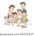 家庭 家族 家人 40745417