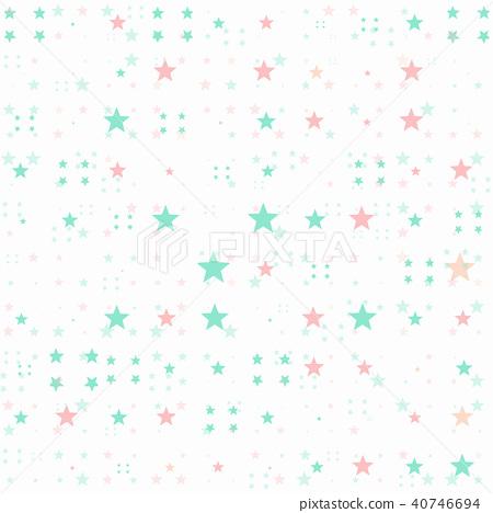 星星背景圖案 40746694