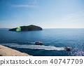 克羅地亞 克羅埃西亞 亞得里亞海的 40747709