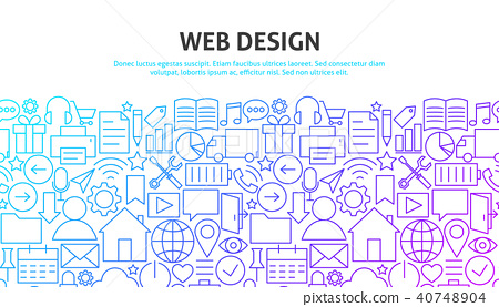 Web Design Concept 40748904