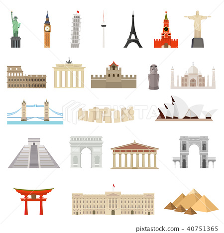 Countries of the world. Architecture, monuments.  40751365