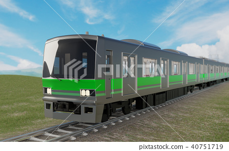 火車圖像 40751719