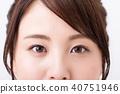 眼睛 目光 眉毛 40751946