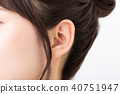 귀 여성 40751947