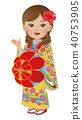 Okinawa Ryukyu costume woman information 40753905