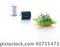 針墊和縫紉線 40755473