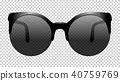 sun glasses vector illustration realistic 40759769