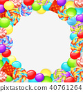 Colorful Lollipops Background 40761264