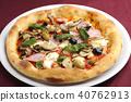 พิซซ่า,อาหาร,แฮม 40762913