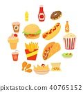 fast food icon 40765152