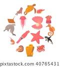 海洋 动物 图标 40765431
