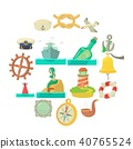 nautical, sea, icon 40765524