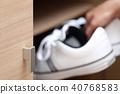 신발장 (신발장 신발 캐주얼 현관 바디 파트 얼굴없는 캐주얼 운동화 손) 40768583