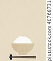 Background - Washi - rice 40768731