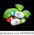 Natural vitamin pills, Alternative medicine 40769506