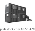 Converted shipping container into building office 40770479