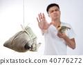 粽子 胃痛 男子 40776272