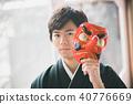Montsuki-hakama 40776669