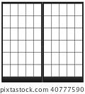 ประตูเลื่อนกระดาษ,ห้องแบบญี่ปุ่น,หน้าต่าง 40777590