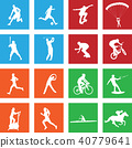 16 simple sport icon 40779641