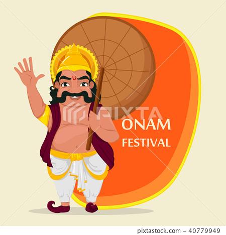 King Mahabali. Happy Onam festival in Kerala 40779949