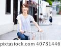 bicycle, bike, female 40781446