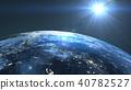 지구 배경 40782527