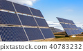 Solar power plant using renewable  energy with sun 40783232