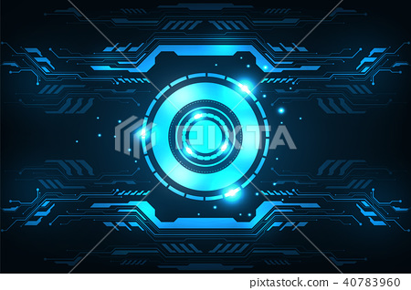 Vector background in the concept of technology. 40783960