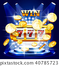 Big win or jackpot - slot machine and coins casino 40785723