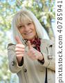 Female, Portrait, Senior 40785941
