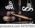 hammer, law, mallet 40787804
