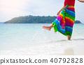海滩 女性 女 40792828